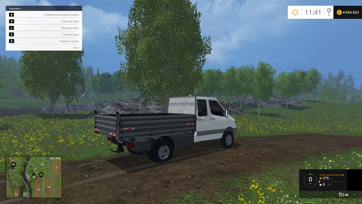 Mercedes-Benz Sprinter для Farming Simulator 2015