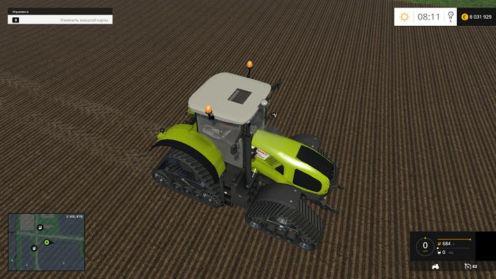 Трактор CLAAS AXION 950 для Farming Simulator 2015