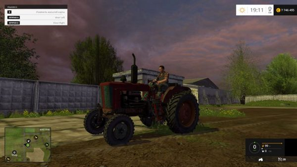 Мод трактора МТЗ-45 для Farming Simulator 2015