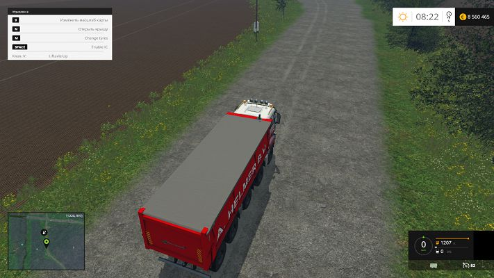 Мод грузовика MAN A Helmer B.V. v 1.0 Beta для FS15