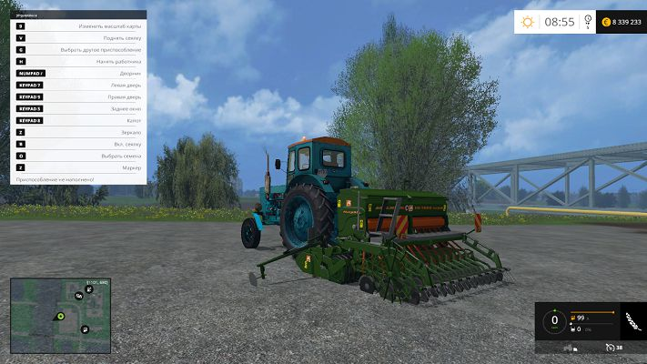 Сеялка Amazone D3000 Super v 1.0 для Farming Simulator 2015Сеялка Amazone D3000 Super v 1.0 для Farming Simulator 2015