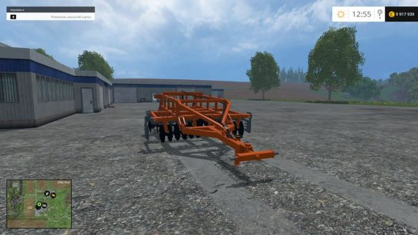 Мод Laumetris heavy disc harrow LLA - 3 v 1.0 для FS15