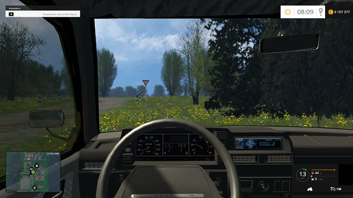Мод Ваз 2109 v 0.8 для Farming Simulator 2015