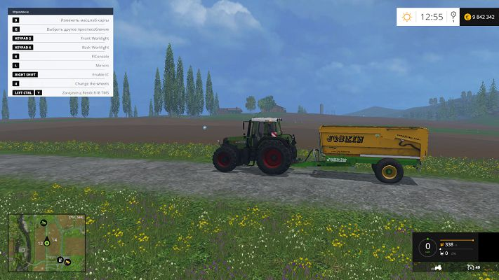 Мод Joskin Trans-CAP 5000/14 v 1.1 для Farming Simulator 2015