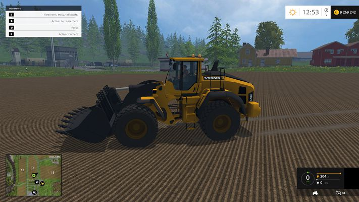 Мод Volvo L250H v 1.0 для Farming Simulator 2015