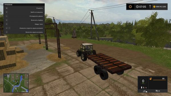 Мод ПРТ 10 Тюковоз v 3.0 для Farming Simulator 2017