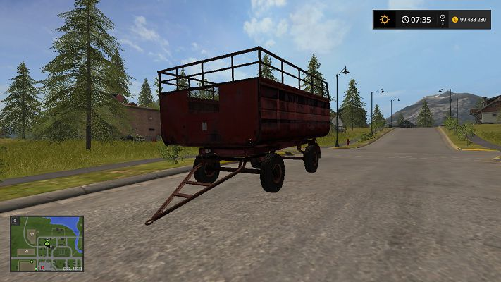 Мод ПТС фургон v 3.0 для Farming Simulator 2017