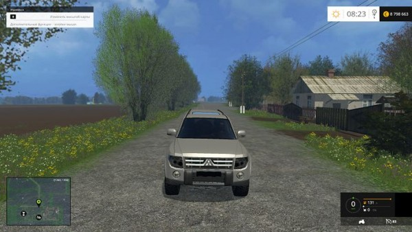 Автомобиля Mitsubishi Pajero для Farming Simulator 2015