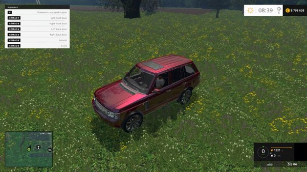 Мод автомобиля Range Rover для Farming Simulator 2015