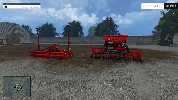 Kuhn Venta LC402 & HR 404 v 1.0 для Farming Simulator 2015