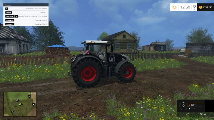 Fendt 939 BB Vario Full v 1.0 для Farming Simulator 2015