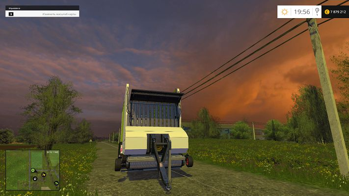 Прицеп Claas Cargos 9600 v 1.0 для Farming Simulator 2015