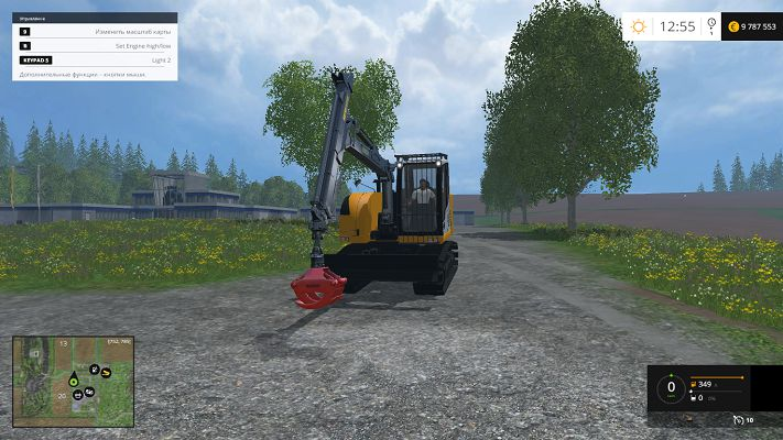 Мод Liebherr 914 Compact v 1.0 для Farming Simulator 2015