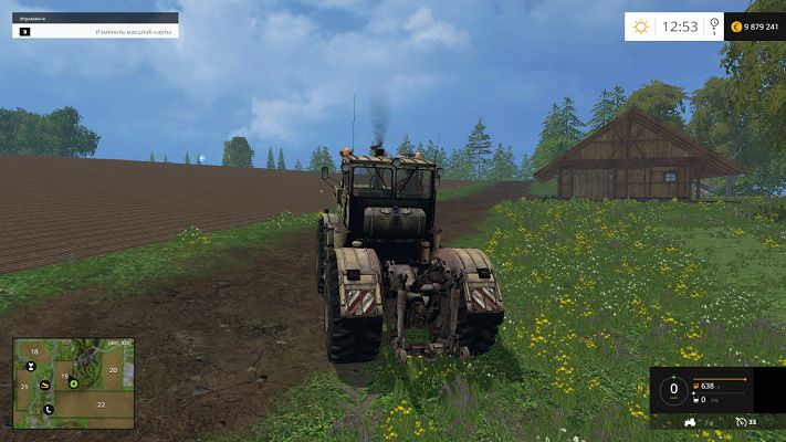 Мод К 701 для Farming Simulator 2015