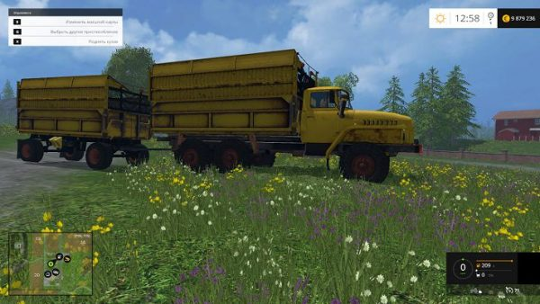 Мод Урал 5577 для Farming Simulator 2015