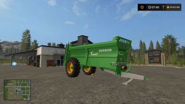Мод Joskin Tornado 3 v 2.0 для Farming Simulator 2017