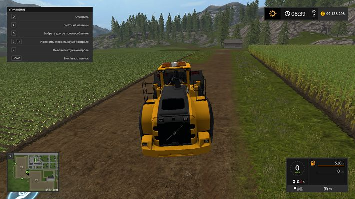 Мод Volvo L220H v 1.0 для Farming Simulator 2017